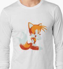 Minimalist Tails Long Sleeve T-Shirt