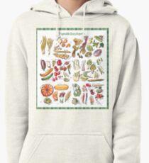 Vegetable Encyclopedia Pullover Hoodie