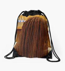 Twist My Head Drawstring Bag