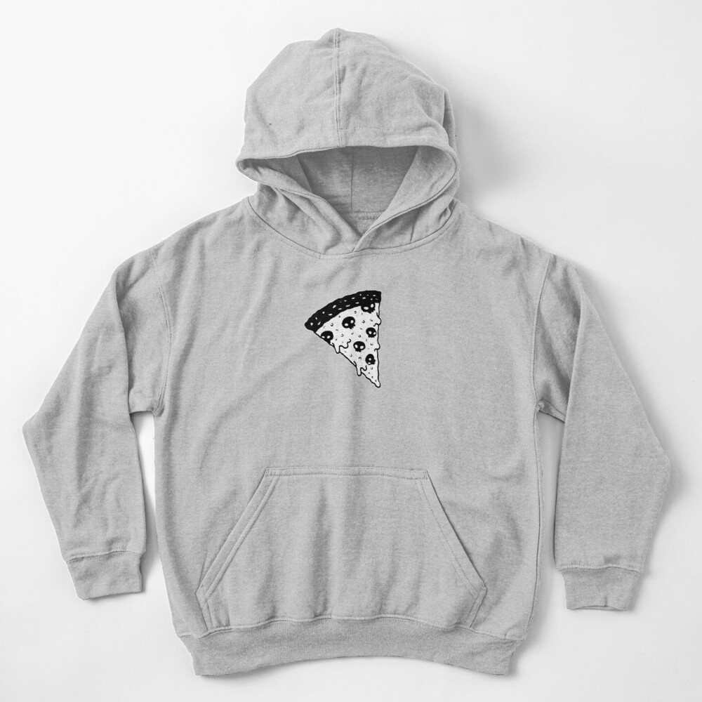 Death by Pizza Kids Pullover Hoodie