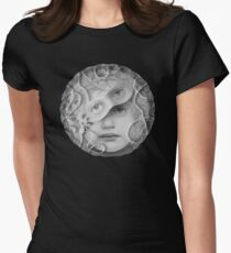Mon Ange Pearled Assemblage Womens Fitted T-Shirt