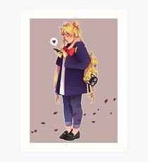 Chubby Usagi Art Print