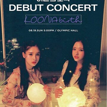 loona debut official image by lovenayeon