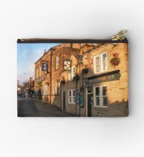 Early morning Winter sun in Idle Yorkshire UK Studio Pouch