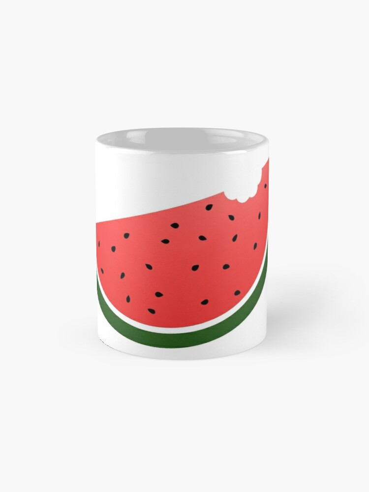 Alternate view of Watermelon Mugs