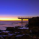 North Beach Jetty At Dusk  by EOS20