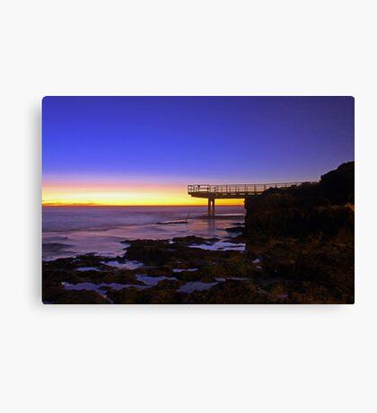 North Beach Jetty At Dusk  Canvas Print