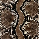 Faux Rock Python Snake Skin Design by Digitalbcon