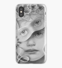 Mon Ange Pearled Assemblage iPhone Case/Skin