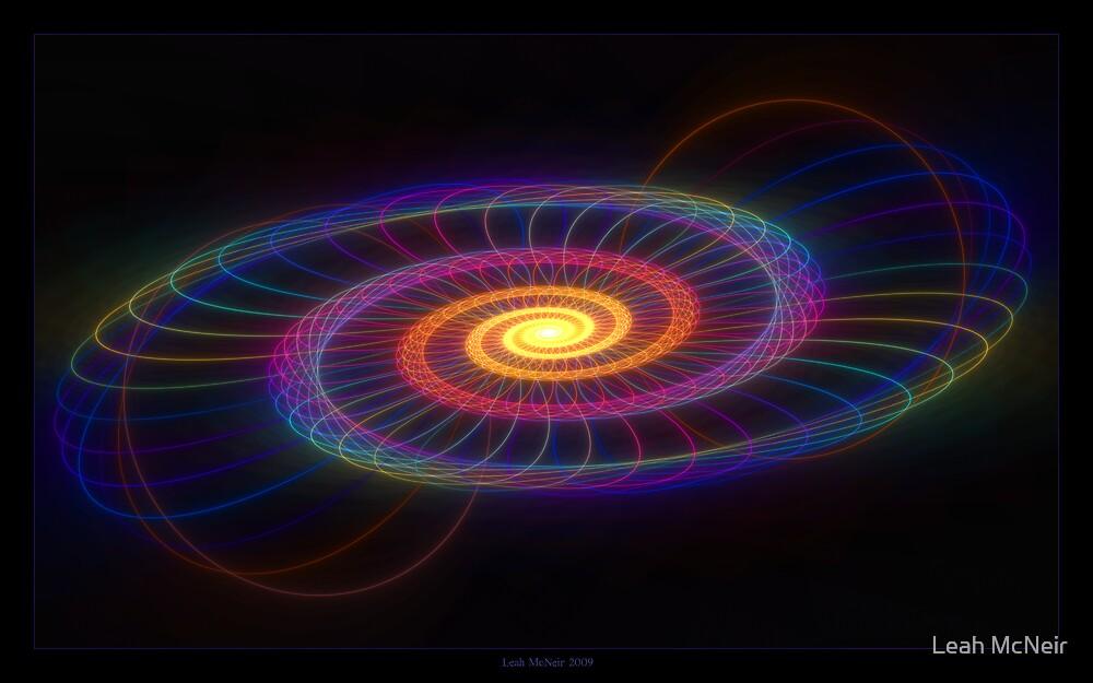 """""""Of Circles & Spirals"""" - Fractal Art by Leah McNeir"""