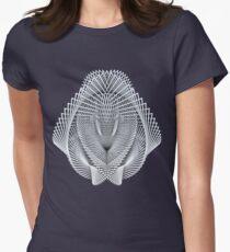 Generative Rorschach 00 Women's Fitted T-Shirt