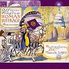 Women's March On Washington 1913, Women's Suffrage With Gorgeous Purple Embellishments by MHirose