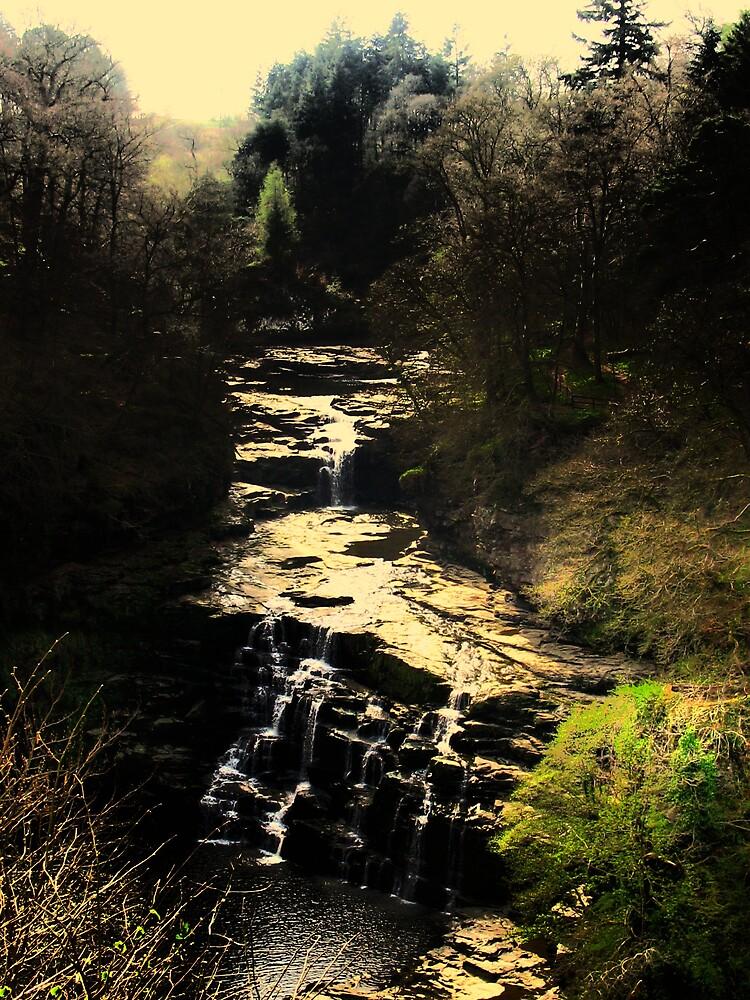 Falls pf Clyde New Lanark by Fred Arrowsmith