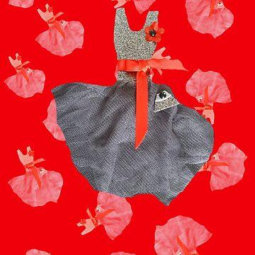 Poppy dress pattern by OllieandQuinn