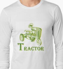 T is for Tractor Long Sleeve T-Shirt