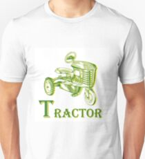 T is for Tractor Unisex T-Shirt