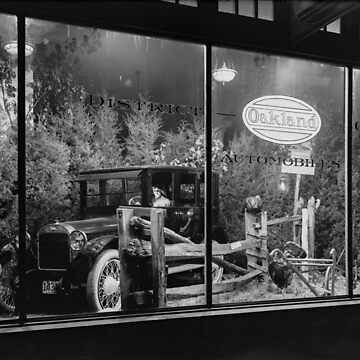 Ford Model A in a Storefront Window by SiliconValleyUS
