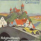 Motoring through Germany..  October 1929 by edsimoneit