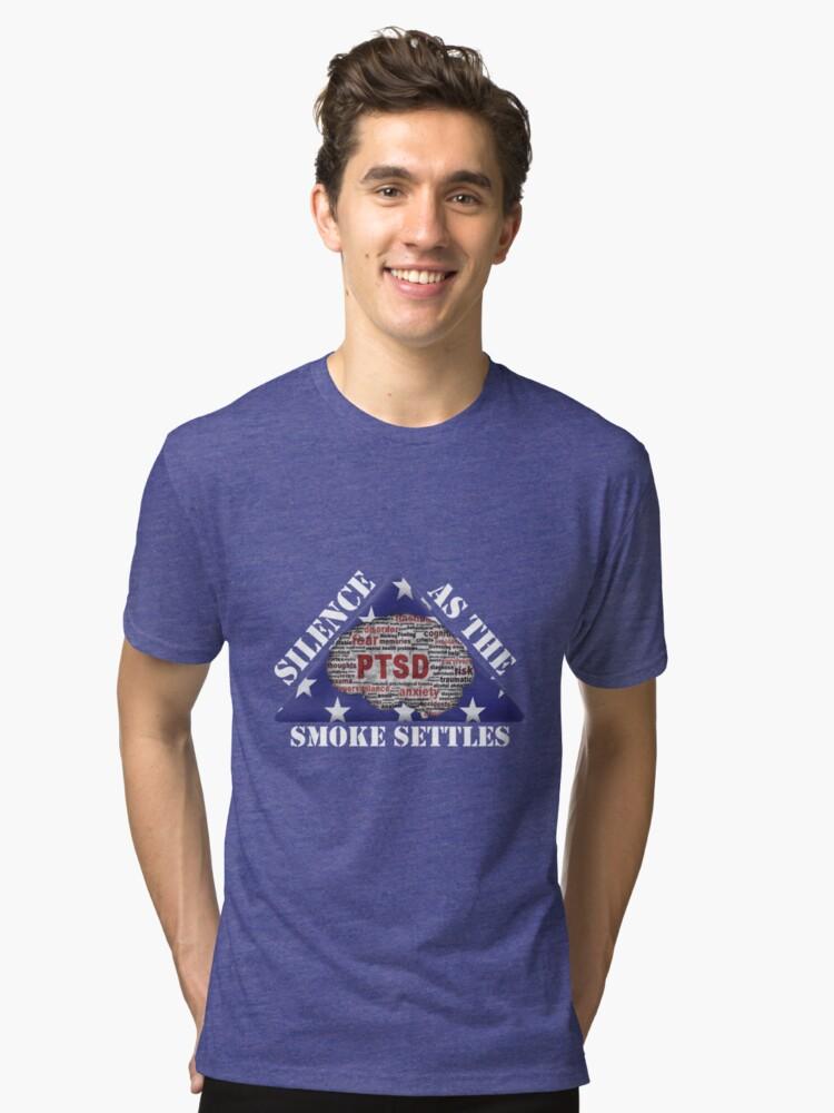SATSS Tri-blend T-Shirt Front
