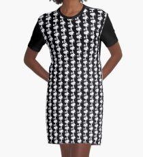 Snoopy Drawn Graphic T-Shirt Dress