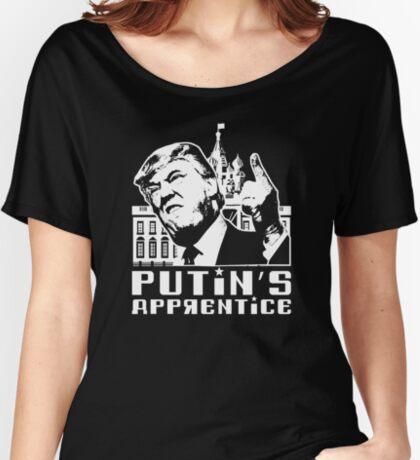 Putins Apprentice Anti-Trump T-shirt Women's Relaxed Fit T-Shirt