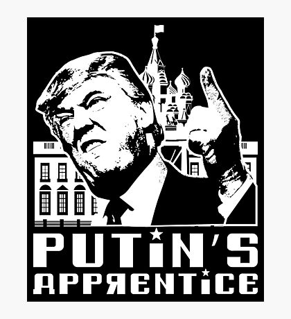 Putins Apprentice Anti-Trump T-shirt Photographic Print
