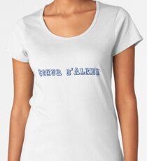 Coeur d'Alene Women's Premium T-Shirt