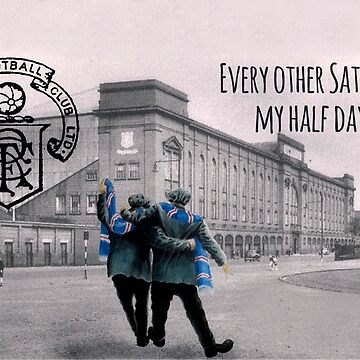 Walking to Ibrox by AndythephotoDr