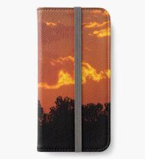 Sunset, Denver, Colorado iPhone Wallet/Case/Skin
