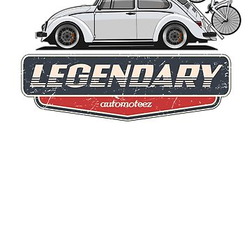 Legendary Classic Bug Bicycle Vintage Retro Cool German Car  by Automoteez