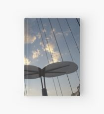 Modern Architecture, Sunset, Denver, Colorado Hardcover Journal
