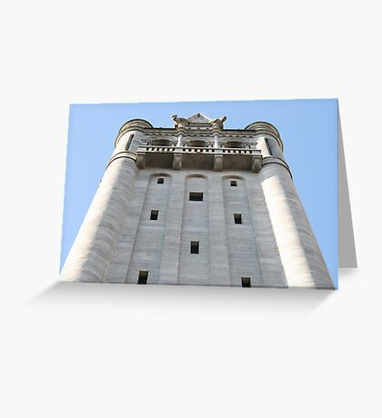 Tower of Holes Greeting Card