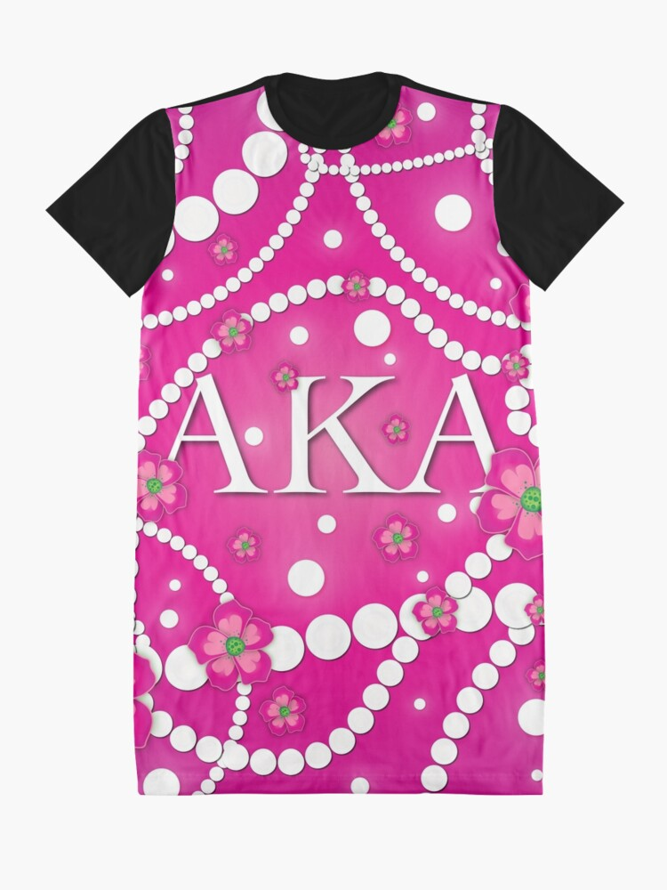 Alternate view of Petals and Pearls Graphic T-Shirt Dress
