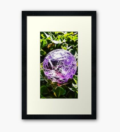 Ametrine  Electric Vibrations  Framed Print