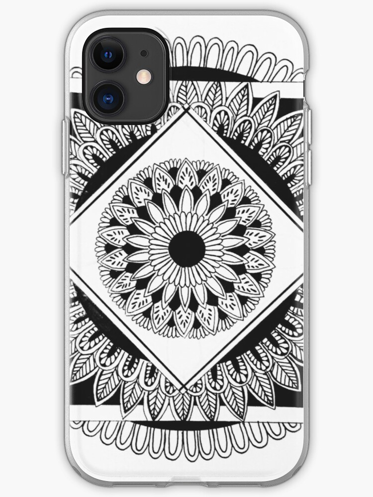 Doodled Geometry iPhone 11 case