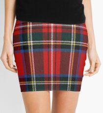 Stewart Royal Modern Tartan Mini Skirt