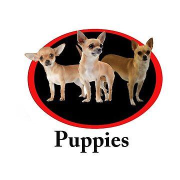 puppies by skelingtondino
