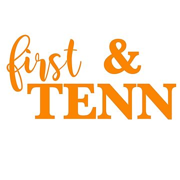 First and Tenn (university of tennessee) by Akmilr