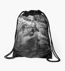jacob the angel Drawstring Bag