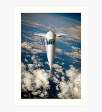Concorde going for it Art Print