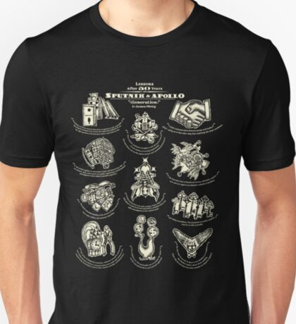 Lessons from 50 years of Sputnik and Apollo. American mythology tee #3. T-Shirt