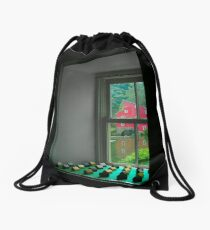 The Red Mill Thru the Window Drawstring Bag