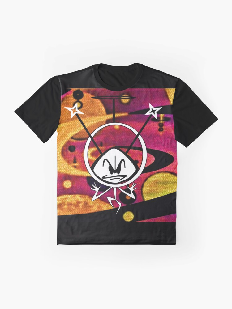 Alternate view of Colonel Bleep In Space Age Colour Graphic T-Shirt