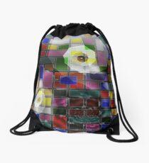 American Quilt Drawstring Bag