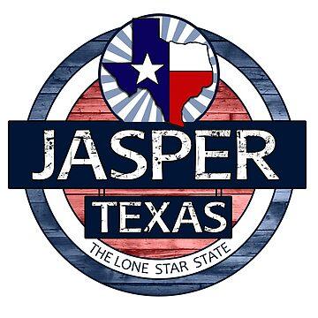 Jasper Texas rustic wood circle by artisticattitud