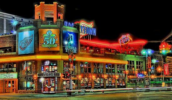 Hockeytown Cafe Baby by Mark Bolen