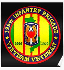 199th Infantry - Vietnam Veteran Poster