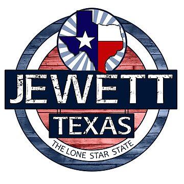 Jewett Texas rustic wood circle by artisticattitud