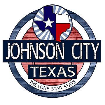 Johnson City Texas rustic wood circle by artisticattitud