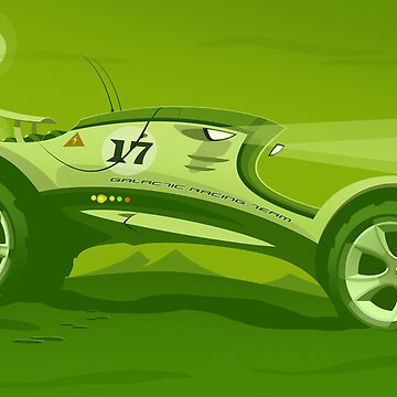 The race across the amazing green planet by petewashere